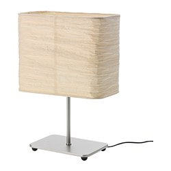 MAGNARP table lamp, natural Shade width: 24 cm Height: 35 cm Cord length: 1.7 m