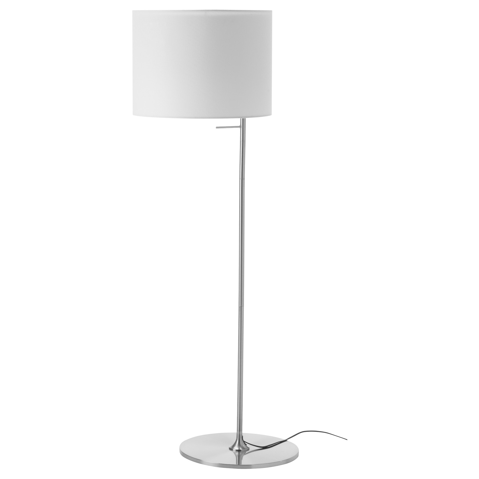 Ikea White Floor Lamp: ,Lighting