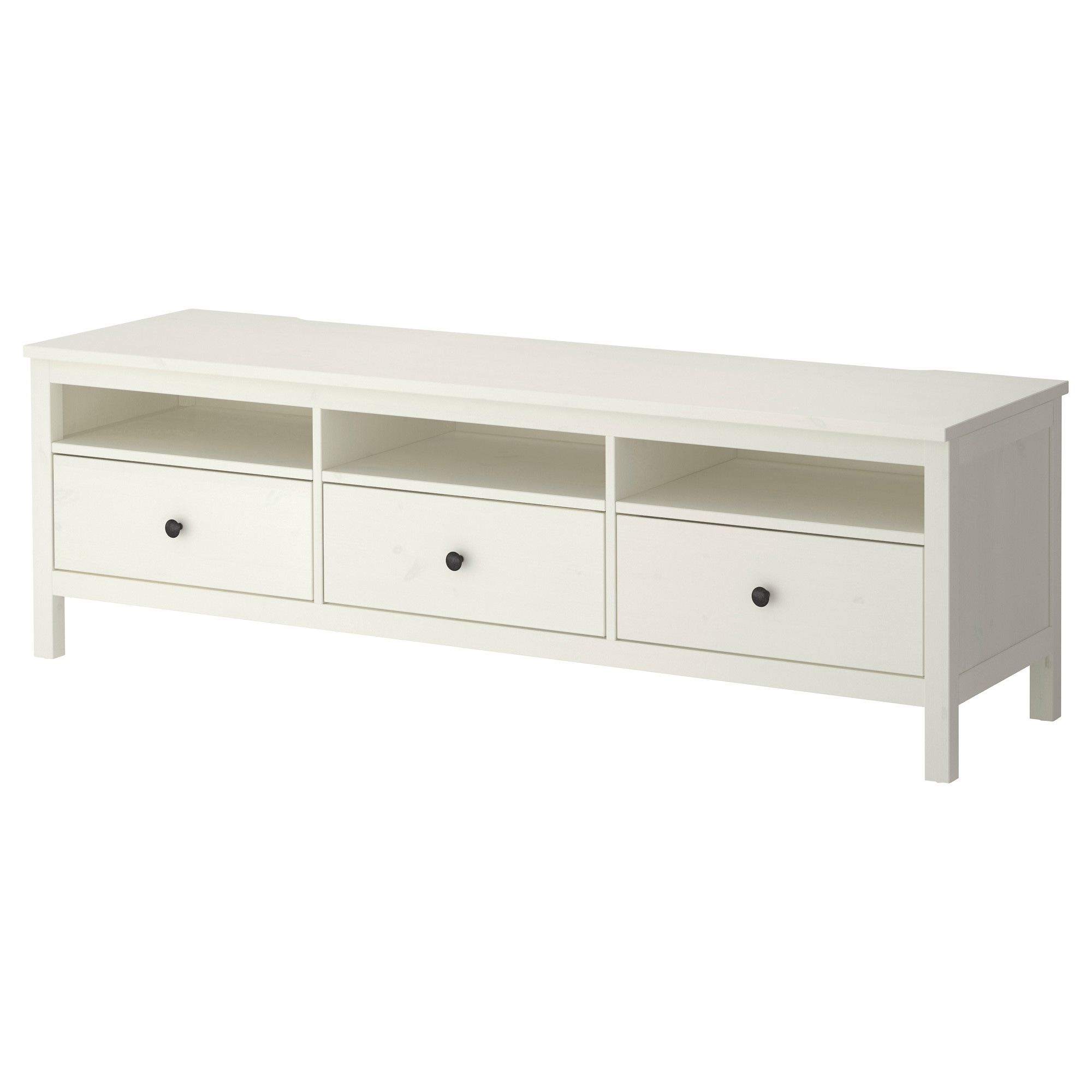 Hemnes Tv Bench White Stain Ikea # Buffet Meuble Tv Ikea