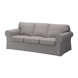 EKTORP cover three-seat sofa