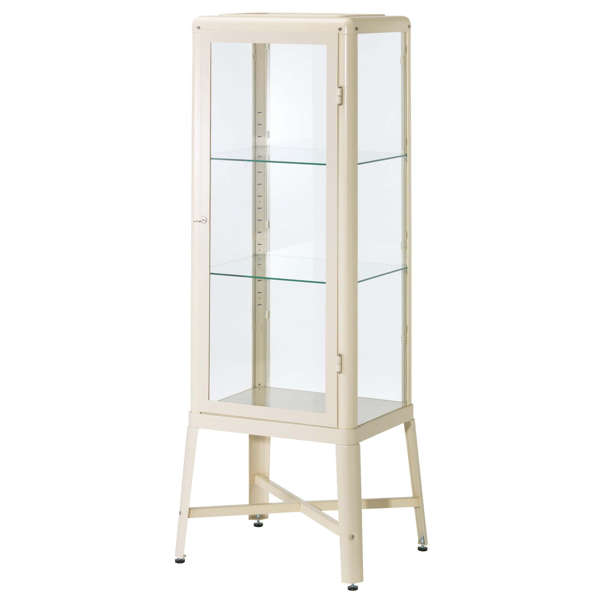 Fabrikr glass door cabinet beige ikea eventshaper