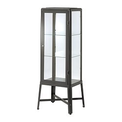 FABRIKÖR Glass-door cabinet $249