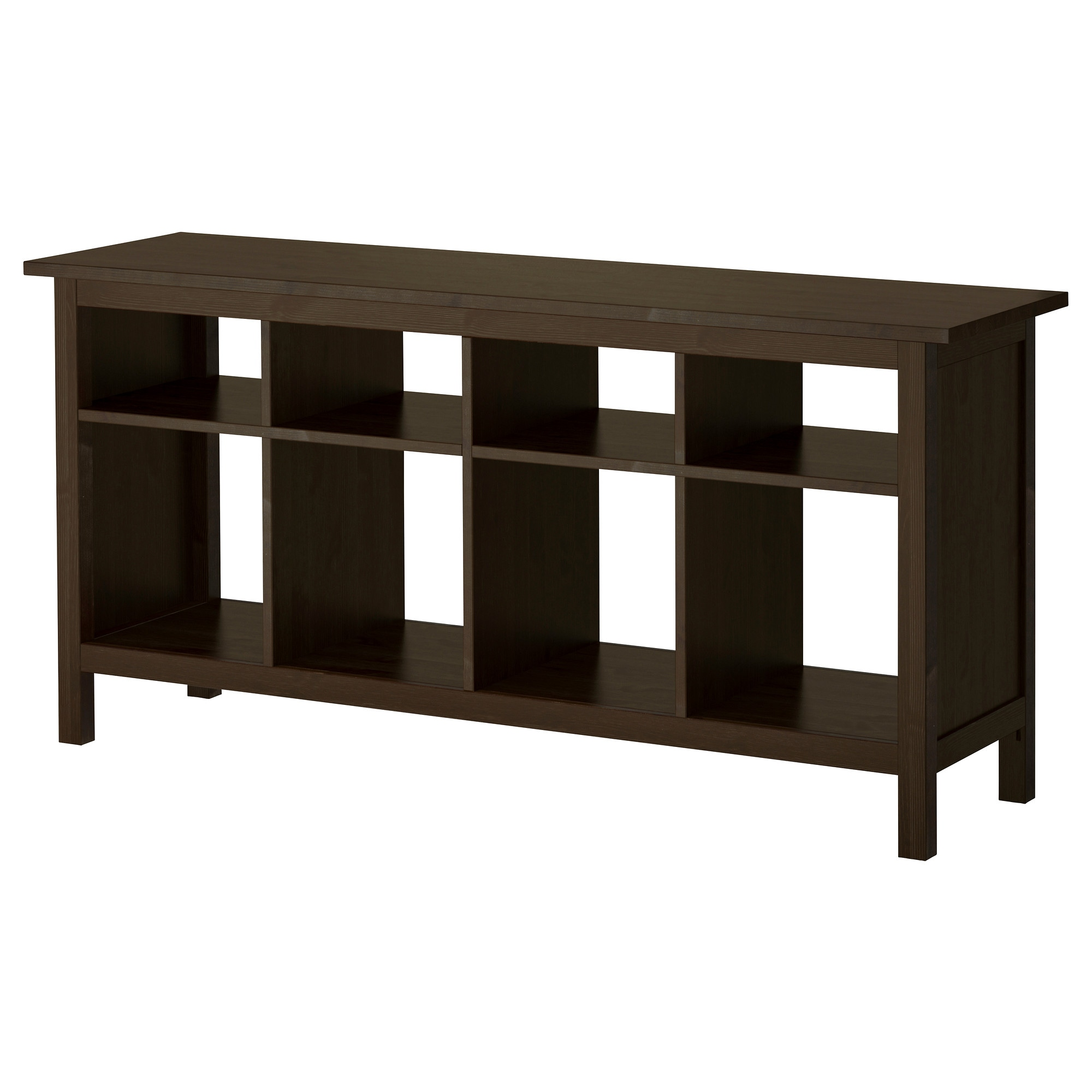 Black console table with storage - Black Console Table With Storage