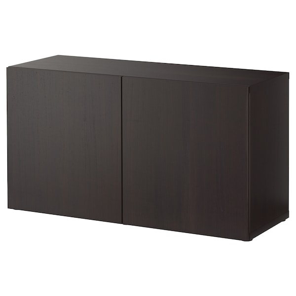 best regal mit t ren lappviken schwarzbraun ikea. Black Bedroom Furniture Sets. Home Design Ideas