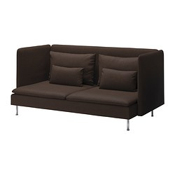 SÖDERHAMN three-seat sofa, high back Width: 198 cm Depth: 99 cm Height: 94 cm