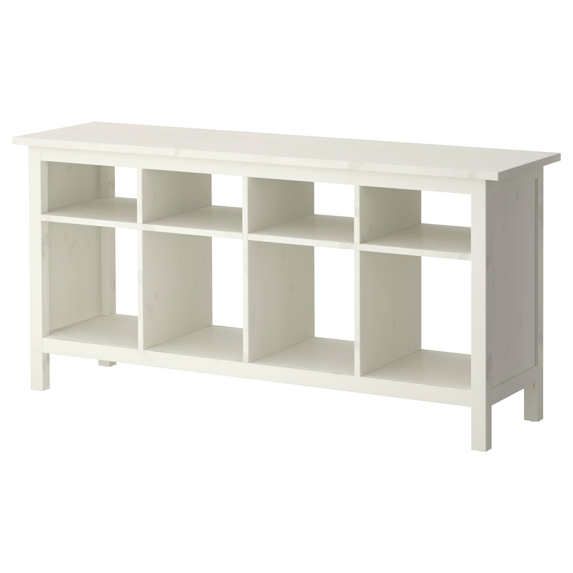 . hemnes console table  white stain  ikea