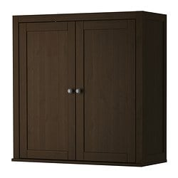 HEMNES add-on unit for bureau, black-brown Width: 89 cm Depth: 36 cm Height: 90 cm