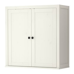 HEMNES add-on unit for bureau, white stain Width: 89 cm Depth: 36 cm Height: 90 cm