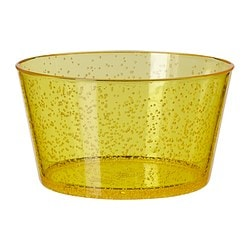 PLACERA serving bowl, yellow Diameter: 15 cm Height: 9 cm