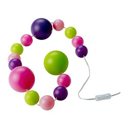 FINFIN LED decoration light chain 15 balls Length: 2.7 m Cord length: 1.5 m