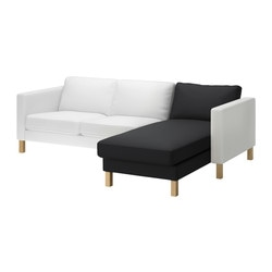 KARLSTAD chaise longue, add-on unit Width: 80 cm Depth: 160 cm Height: 80 cm