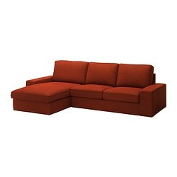 KIVIK two-seat sofa and chaise longue Max. width: 280 cm Min. depth: 95 cm Max. depth: 163 cm