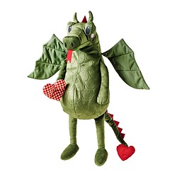 FLYGDRAKE soft toy, dragon