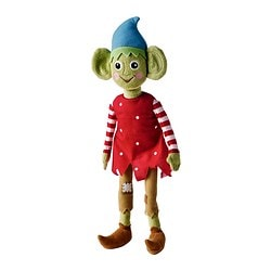 KRULLIG soft toy, elf