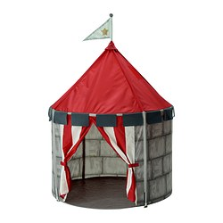 "BEBOELIG children's tent Diameter: 39 ¼ "" Height: 47 ¼ "" Diameter: 100 cm Height: 120 cm"