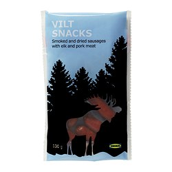 VILT SNACKS smoked & dried elk snacks Net weight: 100 g
