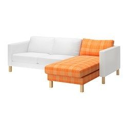 KARLSTAD cover for add-on chaise longue