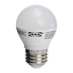 LEDARE LED bulb E26, globe opal white Luminous flux: 200 lm Power: 4.5 W Luminous flux: 200 lm Power: 4.5 W