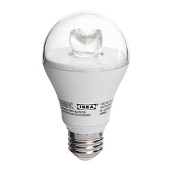 LEDARE LED bulb E26, globe clear Luminous flux: 400 lm Power: 8.5 W Luminous flux: 400 lm Power: 8.5 W