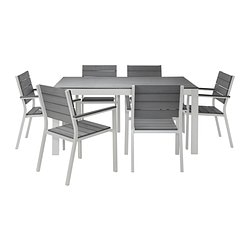 FALSTER table and 6 chairs
