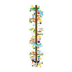 ROKNÄS decoration stickers, height chart Height: 130 cm