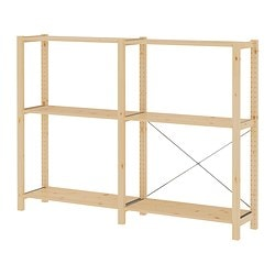 IVAR 2 sections/shelves $128