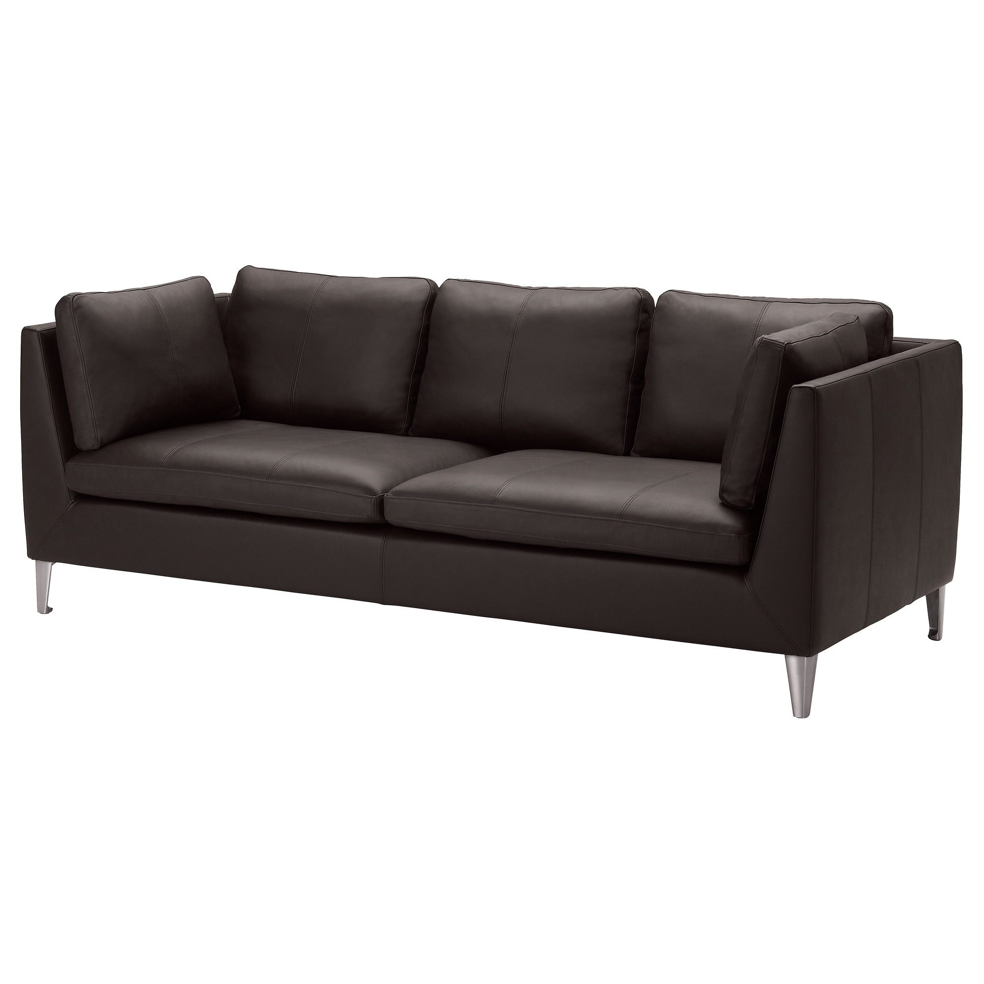STOCKHOLM Sofa Seglora dark brown IKEA