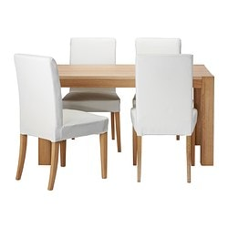 HÖGSBY/ HENRIKSDAL table and 4 chairs