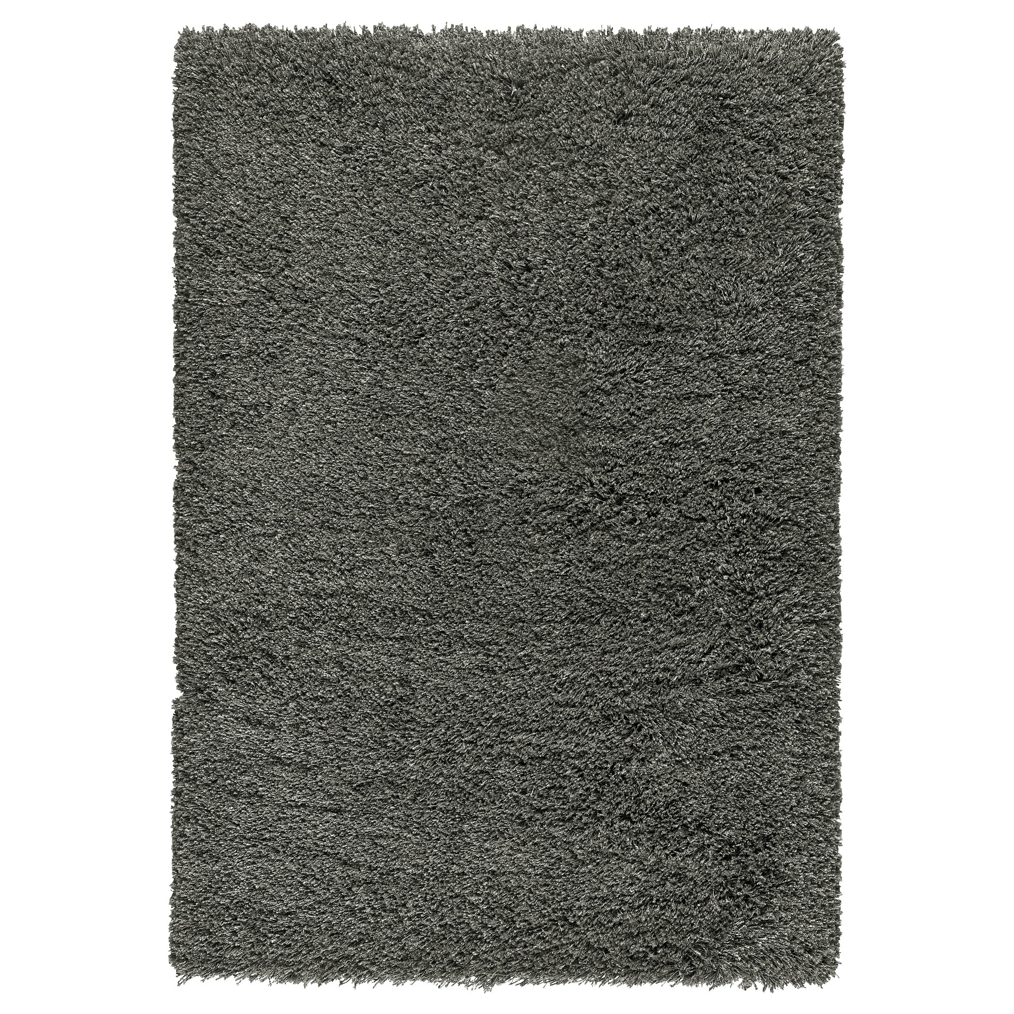 GÅSER rug, high pile, dark gray Length: 7 u0027 10