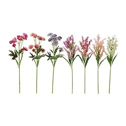 SMYCKA artificial flower, assorted Height: 47 cm