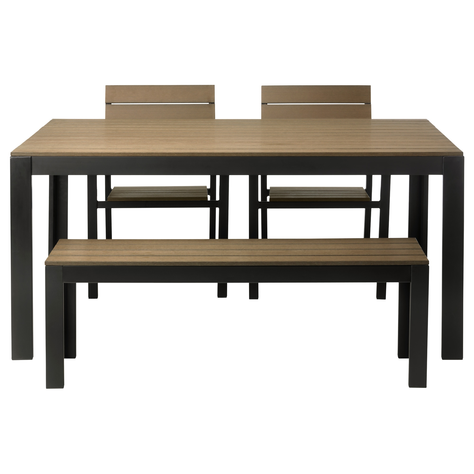 sc 1 st  Ikea & FALSTER Table 2 chairs and bench outdoor - IKEA