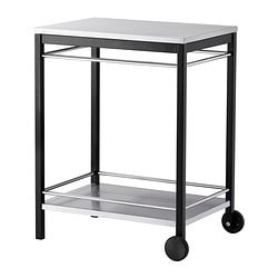 KLASEN trolley, outdoor, stainless steel Width: 74 cm Depth: 57 cm Height: 90 cm