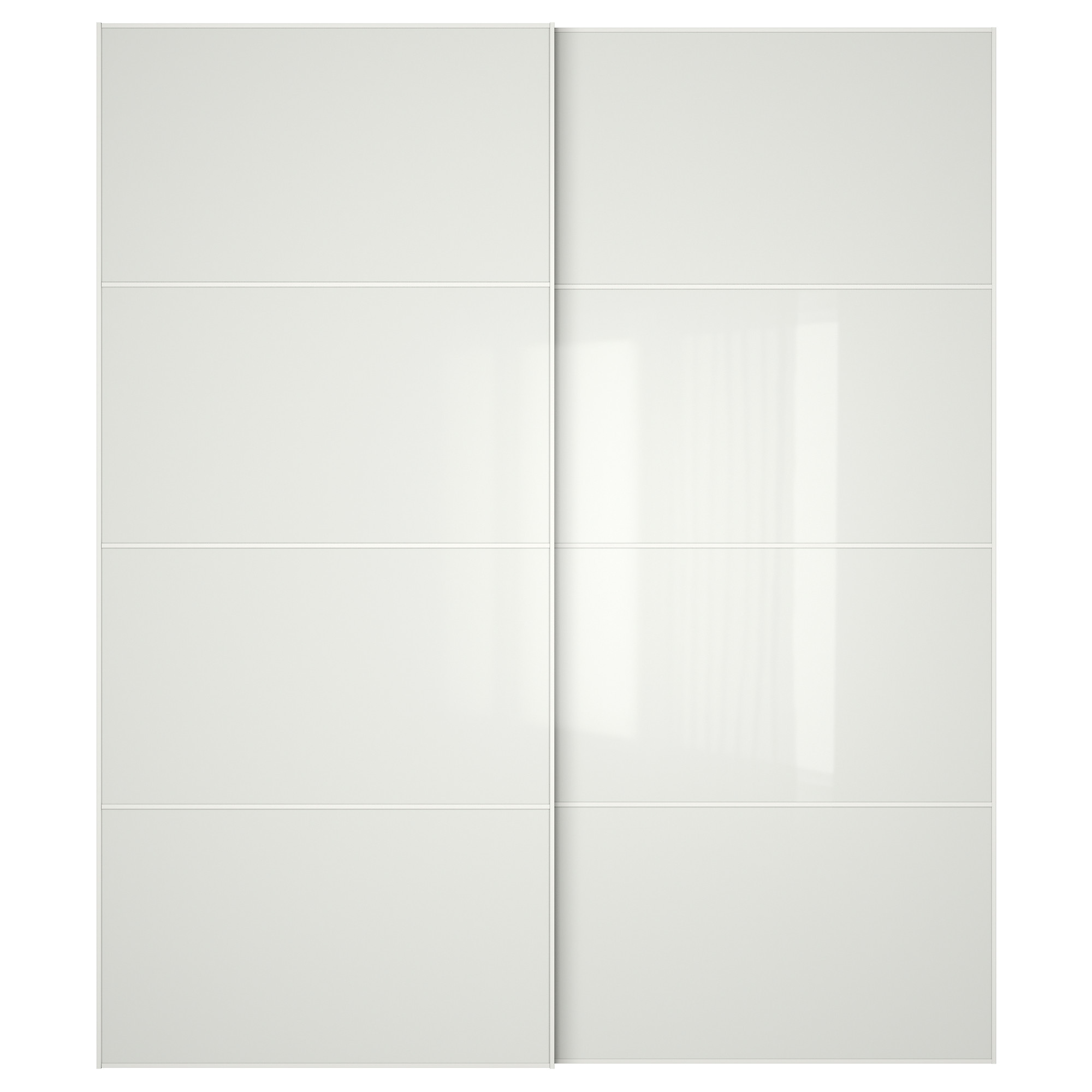 FÄRVIK Pair Of Sliding Doors   150x236 Cm, Soft Closing Damper   IKEA