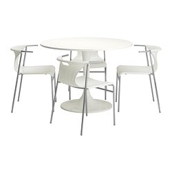 DOCKSTA/ELMER table and 4 chairs