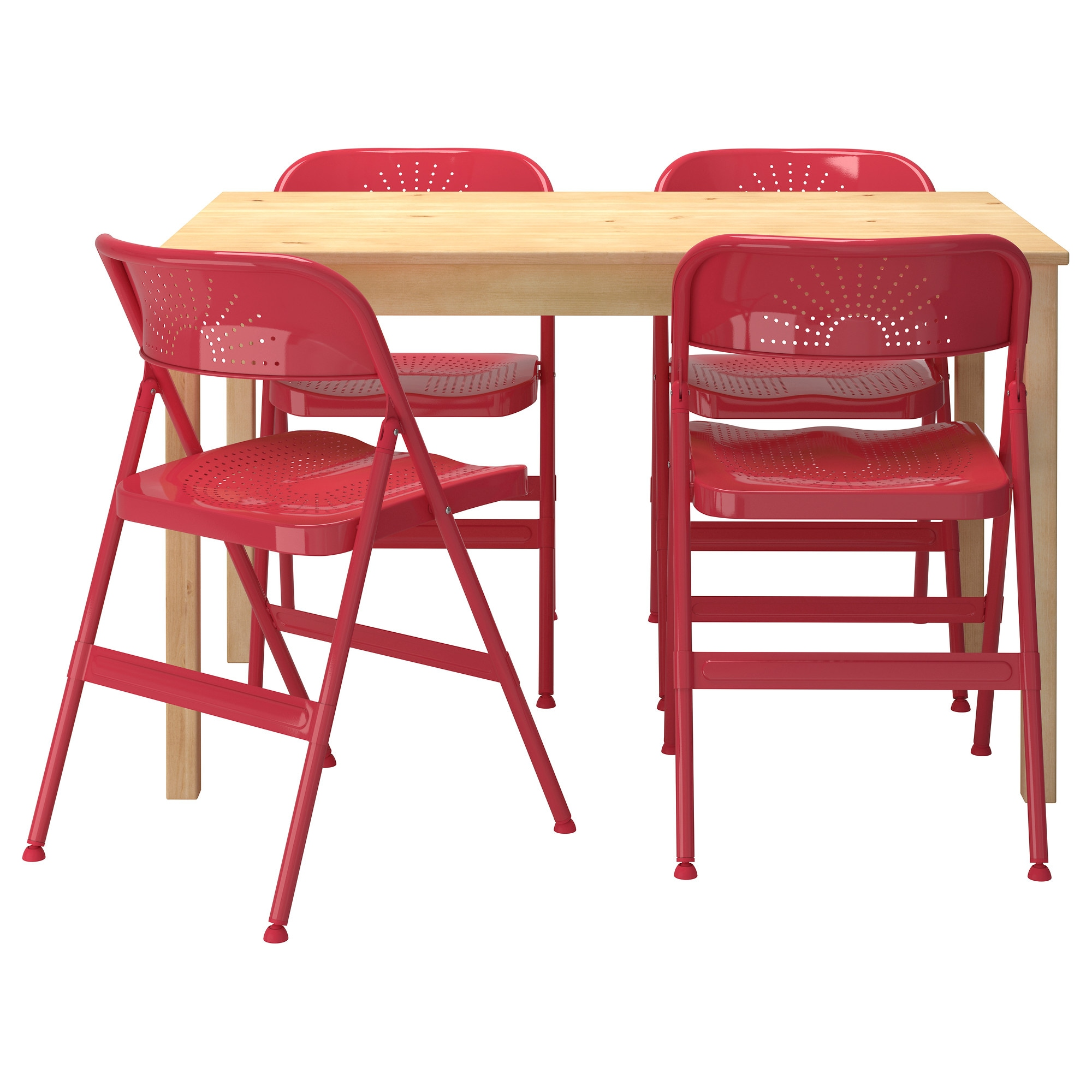 INGO FRODE Table and 4 chairs IKEA