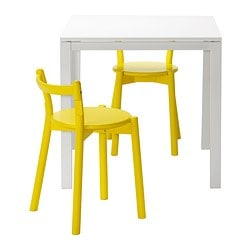 MELLTORP/ IKEA PS 2012 table and 2 stools