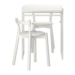 MUDDUS/ IKEA PS 2012 table and 2 chairs