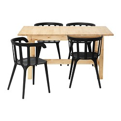 NORDEN/ IKEA PS 2012 table and 4 chairs