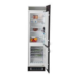 EFFEKTFULL integrated fridge/freezer A+ Width: 54.0 cm Depth: 54.5 cm Height: 177.0 cm