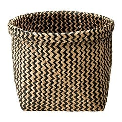MAGGA basket, seagrass Diameter: 32 cm Height: 25 cm
