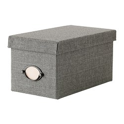 KVARNVIK Box with lid RM22.90