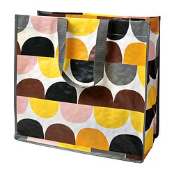 SINGLA bag, orange/yellow Width: 43 cm Depth: 22 cm Height: 40 cm