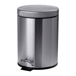 STRAPATS, Pedal bin, stainless steel