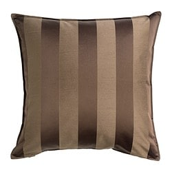 HENRIKA cushion cover, medium brown Length: 50 cm Width: 50 cm