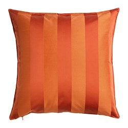 HENRIKA cushion cover, orange Length: 50 cm Width: 50 cm