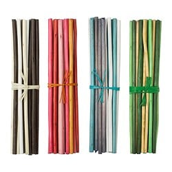 SALTIG decoration stick, assorted colours, scented Height: 35 cm