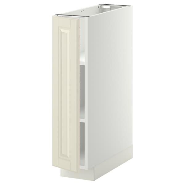 Metod Base Cabinet With Shelves White Bodbyn Off White Ikea