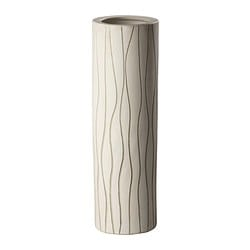 "FREDLÖS vase, beige Diameter: 5 ½ "" Height: 17 "" Diameter: 14 cm Height: 43 cm"