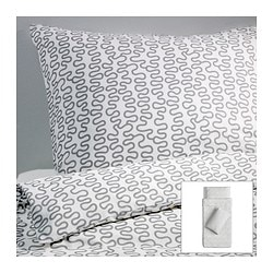 KRÅKRIS quilt cover and 2 pillowcases Quilt cover length: 200 cm Quilt cover width: 150 cm Pillowcase length: 50 cm