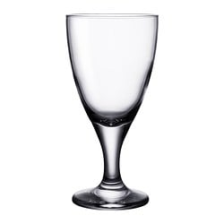 RÄTTVIK red wine glass, clear glass Height: 18 cm Volume: 35 cl